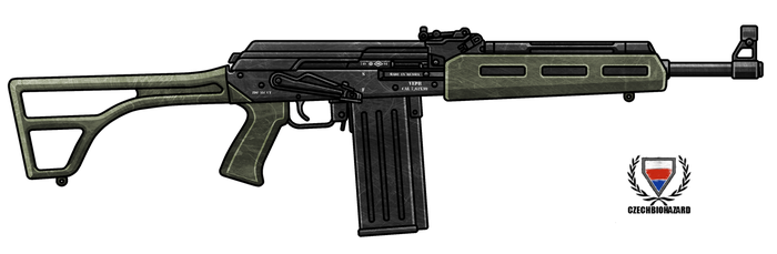 VEPR AK47 .308 Rifle by CzechBiohazard