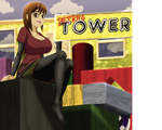 Petra's Tower by Saffireprowler