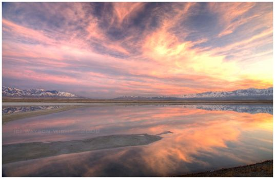 Cotton Candy Sky by tourofnature