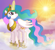 Princess Celestia by BSWPrecious