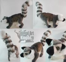 6in Ring Tailed Lemur by AnimalArtKingdom