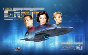 Star Trek Voyager by 1darthvader