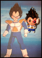 Chibi-Charms: DBZ Vegeta by MandyPandaa