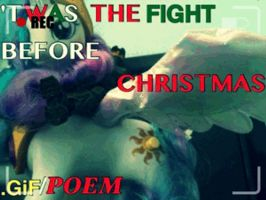 Halo/TFU/MLP - The fight Before christmas by Dreadmaster231
