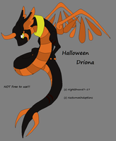 Halloween Driona 1 by NightShrowd7-17
