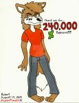 240,000 Pageviews by MugenPlanetX