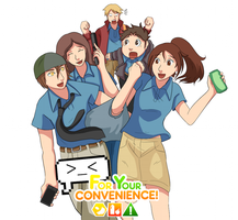 New Animation Series: For Your Convenience! by KameStudios