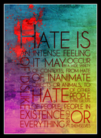 Hate Is by mikepe