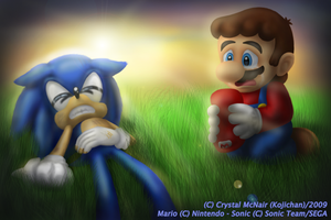 OverThinker - SONIC IN CRISIS by Kojichan