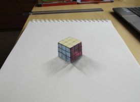 3D Rubik's cube by Mishice