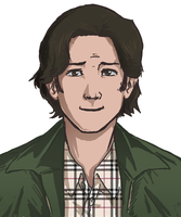 Sam Winchester by Itachei