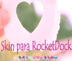 skin RocketDock by tutorialslucy