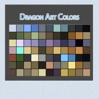 Dragon Art Color by Linkdb