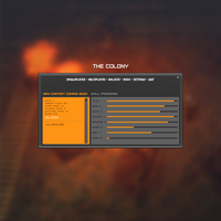 The Colony In-game menu by Proxone