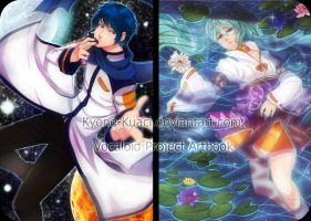 .:Vocaloid Artbook:. by Kyone-Kuaci