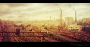 Pollutions - Matte by mary-petroff
