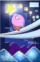 Kirby 5-Star by aquabluu