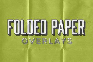 Folded Paper Overlays by pstutorialsws