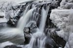 Icy Waterfall by Pajunen
