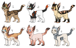 Kitten adoptables | OTA | CLOSED by DaisiesAdopts