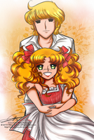Candy and Albert by selinmarsou