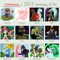 Year round up 2013 by kindalkaykay