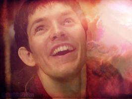 Happy Merlin by MagicalPictureMaker