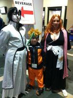 Bleach/Naruto cosplayers AB '13 by XPockyDemonX
