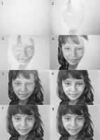 Orphan Drawing Process by LateStarter63