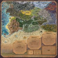 Story Realms Map by Djekspek