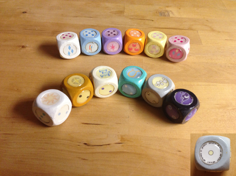 MLP Dice 2 by GolemGeekery