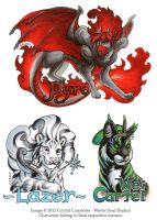 RMFC Badges 2012 by soulofwinter