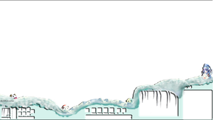 League of legends : FREE Winter Poro Overlay by Pale-Cascade