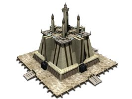 Jedi Temple Model by Xanatos4