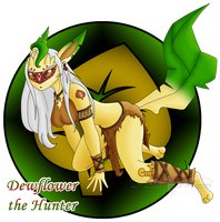 PKMNH - Hunter Dewflower by LtJJFalcon