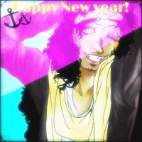 Happy new years with Usopp by kitty11123
