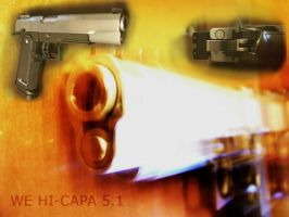 WE Hi Capa 5.1 mod by Lorddarthvik