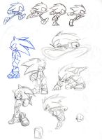 SONIC DOODLES AGAIN by sonicbommer