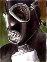 Gas mask by yescabrita