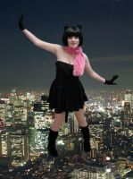 Tokyo black cat girl full pic by ApwilCakes