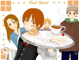 Amazing Cafe by Pink-world