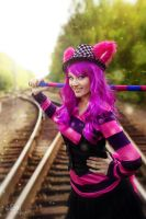 Cheshire cat by Elliar-time
