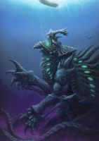 Deep Kaiju by Spenzer777