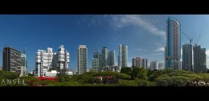Orchard Residences Panorama by Draken413o