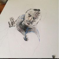 Quicksilver work in progress by PatrickRyant