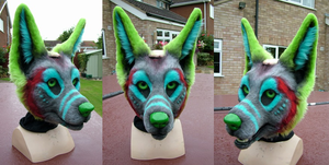 Decon Head Airbrushed by FadingIntoDark