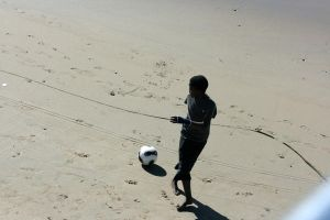 Another ball in the sun by PeterTBexley