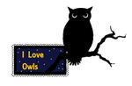 I love owls stamp by TheElementChronicler