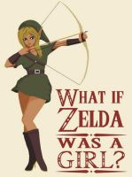 What if Zelda was a girl? by MsNele