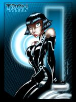 Quorra of Tron by richmbailey